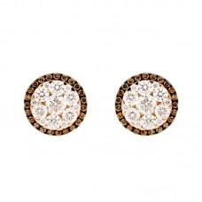 Orecchini con diamanti - 100012E50R