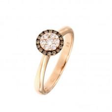 Anello con diamanti - 100014R50R