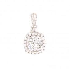 Pendente con diamanti - 100660PW