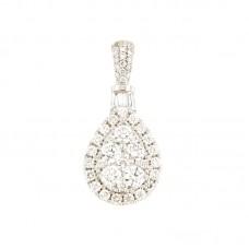 Pendente con diamanti - 100670PW