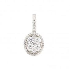 Pendente con diamanti - 100870PW