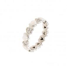 Anello con diamanti - 123815RW