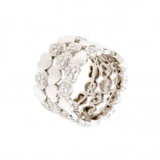 Anello con diamanti - 123825RW