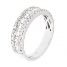 Anello con diamanti - 12469RW