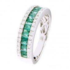 Anello con diamanti e pietre naturali - 12502R03W