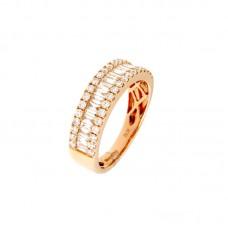 Anello con diamanti - 12502RR