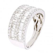 Anello con diamanti - 12533RW