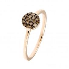 Anello con diamanti - 130206R50R