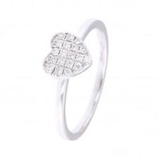 Anello con diamanti - 130207RW