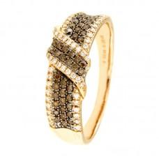 Anello con diamanti - 132XA00867-TBDR