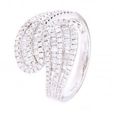 Anello con diamanti - 24271RW