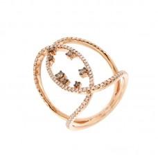 Anello con diamanti  - 270365R50R
