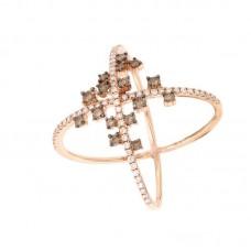 Anello con diamanti  - 270415R50R