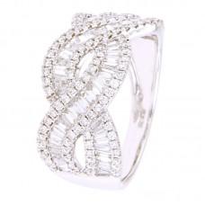 Anello con diamanti - 326085RW