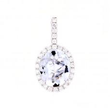 Pendente con diamanti e pietre naturali - 326365P02ACM