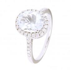 Anello con diamanti e pietre naturali - 326367R02ACM