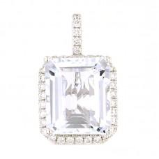Pendente con diamanti e pietre naturali - 326370P02ACM