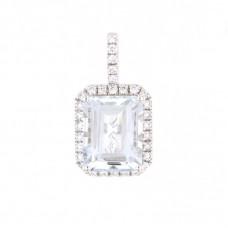 Pendente con diamanti e pietre naturali - 326375P02ACM