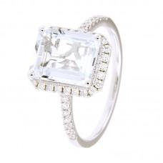 Anello con diamanti e pietre naturali - 326377R02ACM