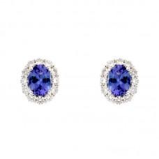 Orecchini con diamanti e pietre naturali - BS27414EC-11R