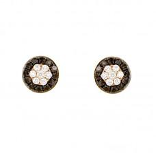 Orecchino con diamanti - BS27768E-34(R,B)
