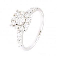 Anelli con diamanti - BS27865R-11AD