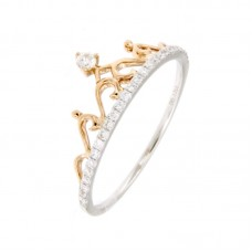Anello con diamanti - BS28504R.