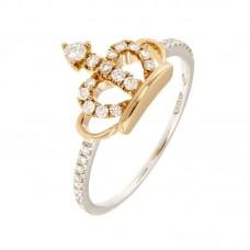 Anello con diamanti - BS28516RR