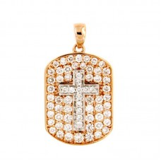 Pendente con diamanti - BS28917P