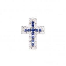 Pendente con diamanti e pietre naturali - BS30279P(z)