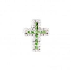 Pendente con diamanti e pietre naturali - BS30279P