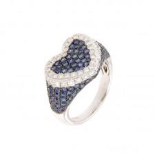 Anello con diamanti e pietre naturali - BS30302RA