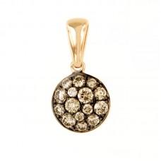 Pendente con diamanti - BS30778N-Br