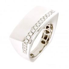 Anello con diamanti - BS30817R(W)