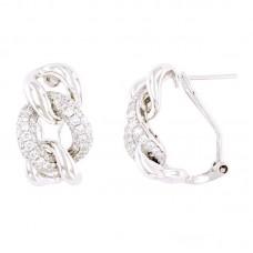 Orecchino con diamanti - BS32022E(W)