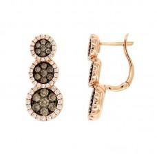 Orecchini con diamanti - EY10073-3004