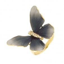 Anello con diamanti - G1123R-BLC