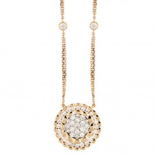 Girocollo con diamanti - N00219RA01