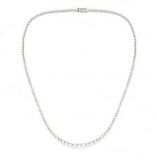 Girocollo con diamanti - N8598-KIM