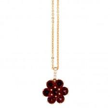 Girocollo con diamanti e pietre naturali - P31657A-3027
