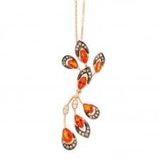Girocollo con diamanti - P42314-2