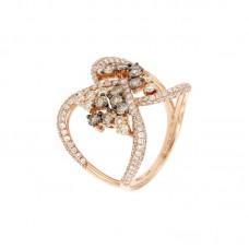 Anello con diamanti  - R01304GA24