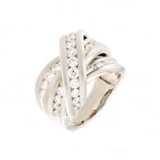 Anello con diamanti - R02213WA01