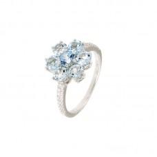Anello con diamanti e pietre naturali - R31657A-3022