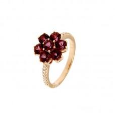 Anello con diamanti e pietre naturali - R31657A-3025