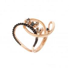 Anello con diamanti  - R38507B-1