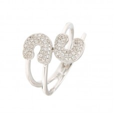 Anello con diamanti - R40736-3