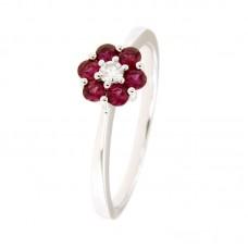 Anello con diamanti  e pietre naturali - RY11876-3006B