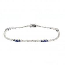 bracciale con diamanti e pietre naturali - AF01258BS.01