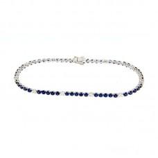 bracciale con diamanti e pietre naturali - AFA0213BS-02